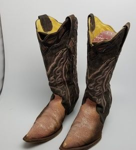 Corral stingrays pink boots